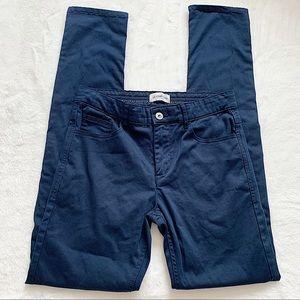 LE CHÂTEAU   Navy Blue high waisted jeans size 28